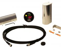 RoadWatch® Sensor Kit with Display and 12' Extension Cable °C Includes Sensor (°C), Fasteners, Connectors, Extension Cable, Display  | Roadwatch